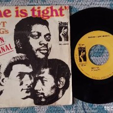 Discos de vinilo: SINGLE BOOKER T. AND THE MG'S - TIME IS TIGHT. Lote 218026570