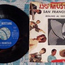 Discos de vinilo: SINGLE LOS MUSTANG - SAN FRANCISCO. Lote 218027555