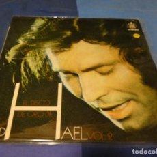Discos de vinilo: EXPRO LP RAPHAEL 1973 EL DISCO DE ORO VOL 2 MUY BUEN ESTADO VINILO. Lote 218028391