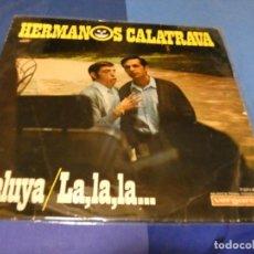 Discos de vinilo: EXPRO LP HERMANOS CALATRAVA HOMONIMO 1967 VINILO BASTANTE CORRECTO PORTADA ACEPTABLE. Lote 218029447
