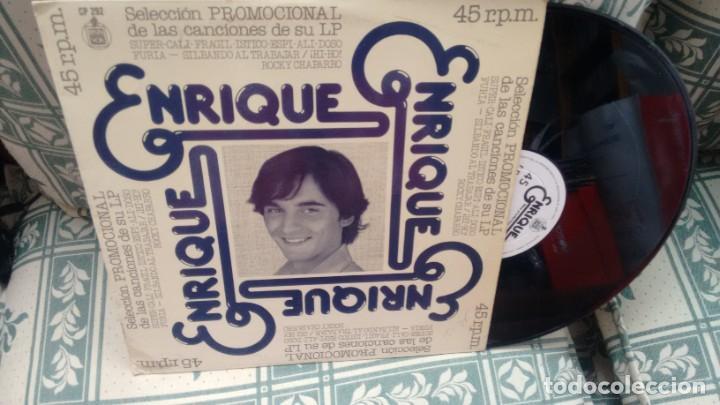 MAXISINGLE (VINILO)-PROMOCION- DE ENRIQUE AÑOS 70 (Música - Discos de Vinilo - Maxi Singles - Música Infantil)