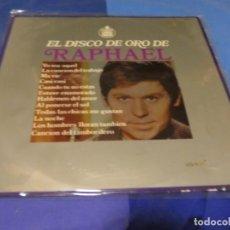 Discos de vinilo: EXPRO LP 1969 EL DISCO DE ORO DE RAPHAEL MUY CORRECTO 1969 HISPA VOX. Lote 218030613