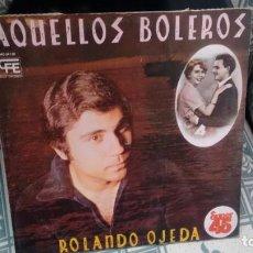 Discos de vinilo: MAXISINGLE (VINILO)-PROMOCION.- DE ROLANDO OJEDA AÑOS 70. Lote 218030908