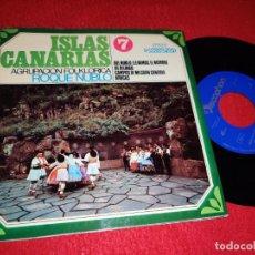 Discos de vinilo: ROQUE NUBLO DEL NUBLO LLEVAMOS EL NOMBRE/ARUCAS +2 EP 1968 CANARIAS FOLK VOL.7. Lote 218032426