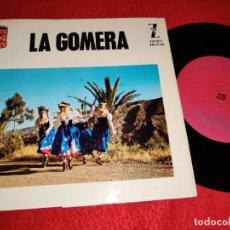 Discos de vinilo: LITA FRANQUIS & CONJUNTO TIPICO FOLIAS PARRANDERAS/SEGUIDILLAS +4 EP 1964 ZAFIRO GOMERA CANARIAS. Lote 218032827