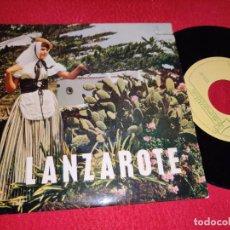 Discos de vinilo: TOTOYO &TIMPLE MALAGUEÑA +1/LITA FRANQUIS &TIPICO NADIE VIVE SIN AIRE +1 EP1964 LANZAROTE CANARIAS. Lote 218033235