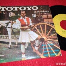 Discos de vinilo: TOTOYO Y SU TIMPLE ISLAS CANARIAS/MALAGUEÑA/SOMBRA DEL NUBLO +1 EP 1963 IBEROFON. Lote 218033598