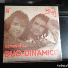 Discos de vinilo: DUO DINAMICO - LA VOZ DE... EL DUO DINAMICO / 2LP MADE IN SPAIN 1976.NM-NM. Lote 218038670