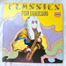 Discos de vinilo: CLASSICS FOR DANCIG - ORQUESTA FRANK VALDOR, DISCO VINILO LP, EUROPA ,E 193, MADE IN GERMAY. Lote 218041445