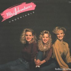 """Discos de vinilo: MS. ADVENTURES 12"""" MAXI VINILO * UNDENIABLE * USA 1990 * PRECINTADO!!. Lote 218042251"""