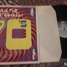 Discos de vinilo: DOBLE LP AND THE BEAT GOES ON ! 70'S. VARIOS ARTISTAS. EDICION TELSTAR DE 1988. PORTADA DOBLE.. Lote 218046427