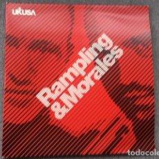 Discos de vinilo: RAMPLING & MORALES . 4 MAXI´S . EDICIÓN EXTRANJERA . AÑO 2000. Lote 218051547