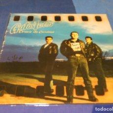 Discos de vinilo: EXPRO LP ROCKABILLY NACIONAL GATOS LOCOS CRUCES DE CAMINO VINILO MUY BUEN ESTADO LOMO TOCADO. Lote 218056218
