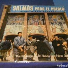 Discos de vinilo: EXPRO BONITO LP GATEFOLD EDICIONES PAX SALMOS PARA UN PUEBLO 1968 BUEN ESTADO. Lote 218056255