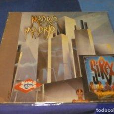 Discos de vinilo: EXPRO LP LOS SIREX MADRID MADRID 1984 PORTADA CON ALGUN NERVIO VINILO MUY BIEN. Lote 218056327