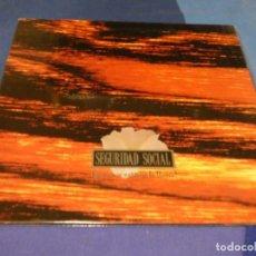 Discos de vinilo: EXPRO LP GATEFOLD MUY BUEN ESTADO GENERAL SEGURIDAD SOCIAL QUE NO SE EXTINGA LA LLAMA. Lote 218056482
