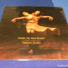 Discos de vinilo: EXPRO LP RARO DE NARICES MARIA DEL MAR BONET COREOGRAFIAS CON NACHO DUATO. Lote 218056523