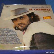 Discos de vinilo: EXPRO LP FLAMENCO EL CABRERO A PASO LENTO OLIVO 1979 MUY BUEN ESTADO. Lote 218056642