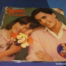 Discos de vinilo: EXPRO LP 1978 CANTA CON ENRIQUE Y ANA VINILO MUY BUEN ESTADO LP MUY BIEN. Lote 218056676
