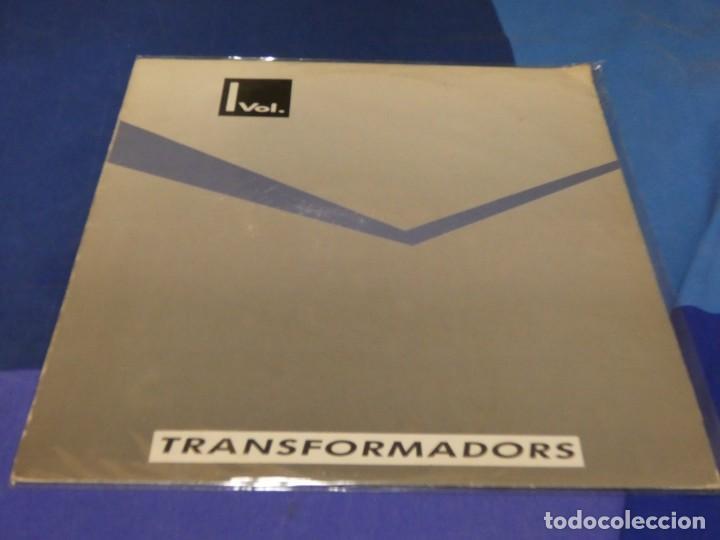 EXPRO LP TRANSFORMADORS VOL 1 ANTOLOGIA GRUPOS POP CATALAN DESCONOCIDOS 1987 ALGUNAS LINEAS FINAS (Música - Discos de Vinilo - Singles - Pop - Rock Extranjero de los 80)