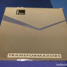 Discos de vinilo: EXPRO LP TRANSFORMADORS VOL 1 ANTOLOGIA GRUPOS POP CATALAN DESCONOCIDOS 1987 ALGUNAS LINEAS FINAS. Lote 218056796