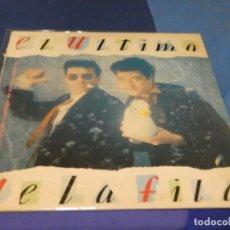 Discos de vinilo: EXPRO LP EL ULTIMO DE LA FILA NUEVO PEQUEÑO CATALOGO...LOMO ROZADILLO TODO LO DEMAS GENIAL. Lote 218056832