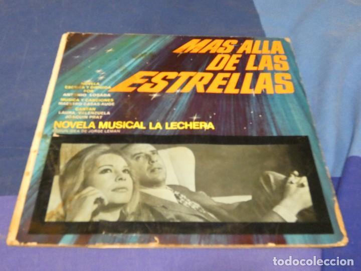 """EXPRO NOVELA MUSICA LA LECHERA 10"""" MAS ALLA DE LAS ESTRELLAS PORTADA MANCHADILLA VINILO ACEPTABLE (Música - Discos de Vinilo - Singles - Pop - Rock Extranjero de los 80)"""
