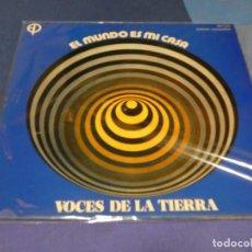 Discos de vinilo: EXPRO TERRIBLE ARTEFACTO EL MUNDO ES MI CASA VOCES DE LA TIERRA ED PAULINAS ITURRALDE BUEN ESTADO 73. Lote 218056922