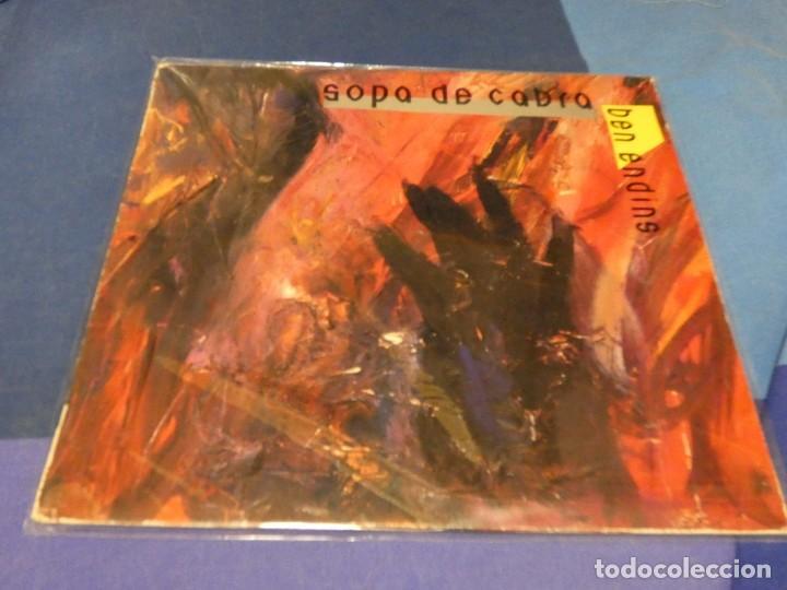EXPRO DOBLE ROCK CATALAN CATALA SOPA DE CABRA BEN ENDINS LA MAR DE CORRECTO (Música - Discos de Vinilo - Singles - Pop - Rock Extranjero de los 80)