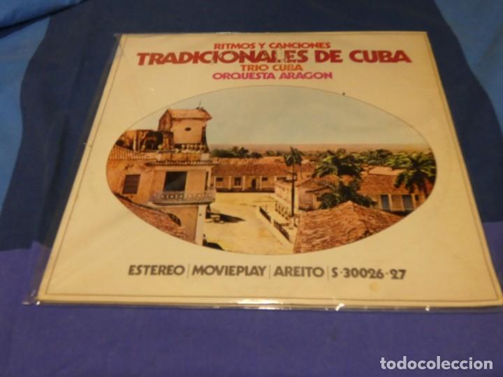 EXPRO DOBLE LP MOVIEPLAY 1972 TIMOS Y CANCIONES TRADICIONALES CUBA ACUSA USO LINEAS LEVES TOLERABLE (Música - Discos de Vinilo - Singles - Pop - Rock Extranjero de los 80)