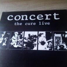 Discos de vinilo: CONCERT THE CURE LIVE LP VINILO ED ESPAÑA BUEN ESTADO ROBERT SMITH. Lote 218057673