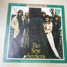 Discos de vinilo: NEW SEEKERS, THE - EUROVISION 72 -, SG, BEG, STEAL OR BORROW + 1, AÑO 1972. Lote 218077625