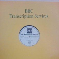 Discos de vinil: ERASURE ..- IN CONCERT -410 - UNOFFICIAL RELEASE - 1987 -A RARE BBC TRANSCRIPTION SERVICES LP FEA. Lote 218080373