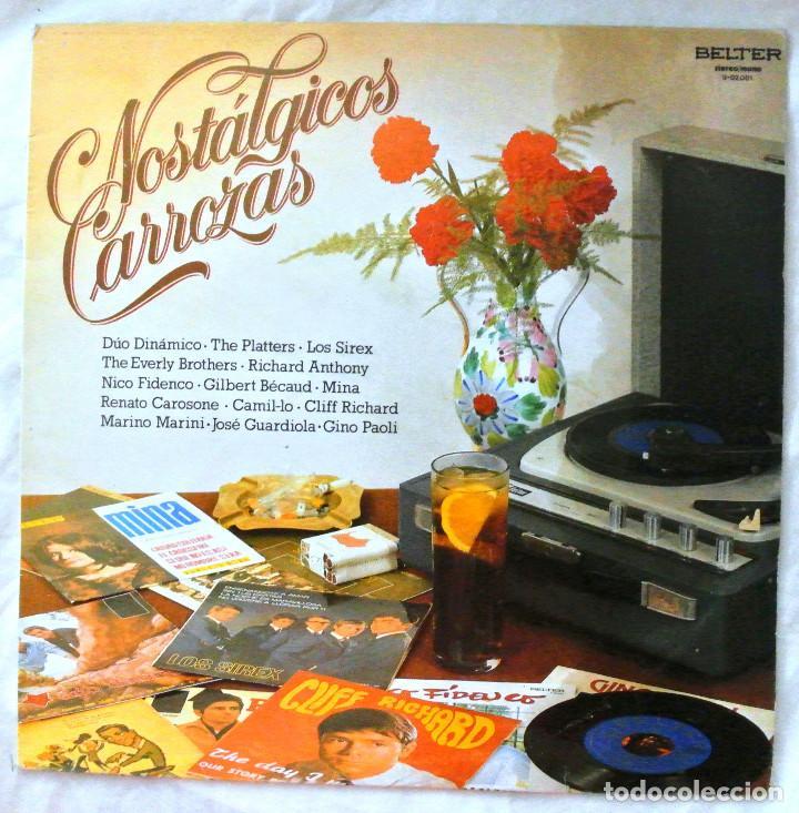NOSTALGICAS CARROZAS, RECOPILATORIO, DISCO VINILO LP , BELTER , 1981 (Música - Discos - LP Vinilo - Jazz, Jazz-Rock, Blues y R&B)