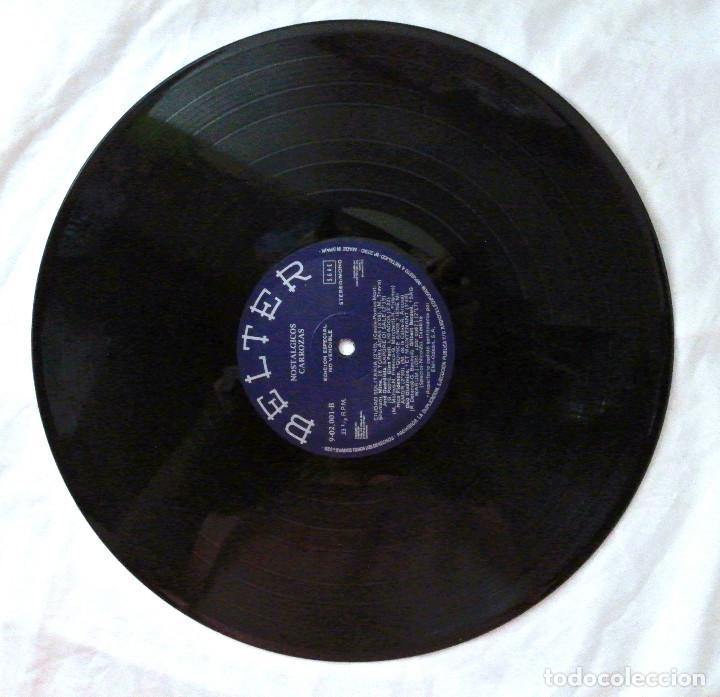 Discos de vinilo: NOSTALGICAS CARROZAS, RECOPILATORIO, DISCO VINILO LP , BELTER , 1981 - Foto 4 - 218080920