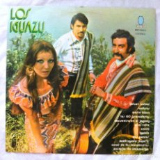 Discos de vinilo: LOS IGUAZU , DISCO VINILO LP , TURQUESA , 1974. Lote 218082245