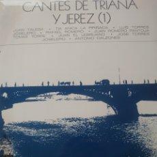 Discos de vinilo: CANTES DE TRIANA Y DE JEREZ (1) LP SELLO ARIOLA AÑO 1971...JUAN TALEGA, RAFAEL ROMERO.... Lote 218087173