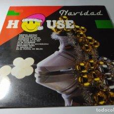 Discos de vinilo: LP - CASCABELES ?– NAVIDAD HOUSE - LP-33192 ( VG+ / VG+) SPAIN 1989. Lote 218093416