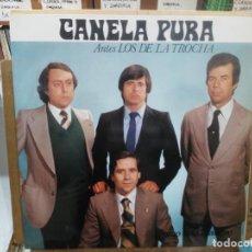 Dischi in vinile: CANELA PURA (ANTES LOS DE LA TROCHA) - COMO ESTÁ MANDAO - LP. DEL SELLO SENADOR 1984. Lote 218094480