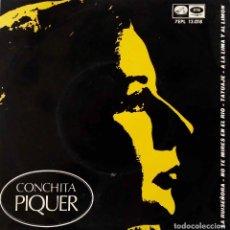Discos de vinilo: CONCHA PIQUER, LA RUISEÑORA + 3 CANCIONES. EP ESPAÑA. Lote 218083371