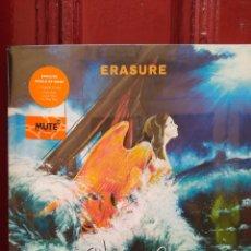 Discos de vinilo: ERASURE-WORLD BE GONE - LP VINILO NUEVO PRECINTADO -. Lote 218095628