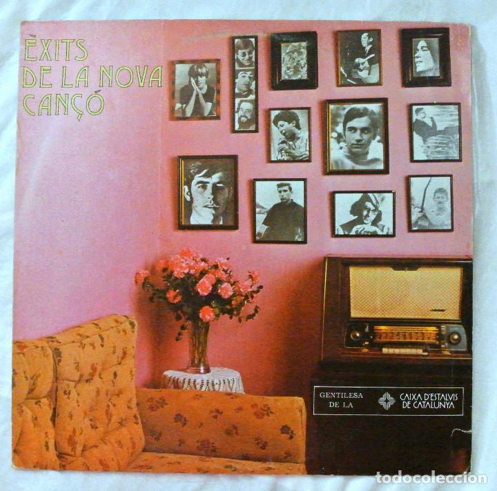 ÈXITS DE LA NOVA CANÇÓ - RECOPILATORIO, DISCO VINILO LP, EDIGSA , 1979 (Música - Discos - LP Vinilo - Country y Folk)