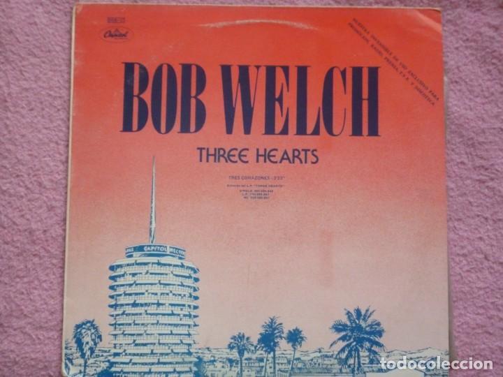 BOB WELCH,THREE HEARTS Y DR.HOOK,SHARING THE NIGHT TOGETHER EDICION ESPAÑOLA DEL 79 PROMO (Música - Discos de Vinilo - Maxi Singles - Pop - Rock Extranjero de los 70)