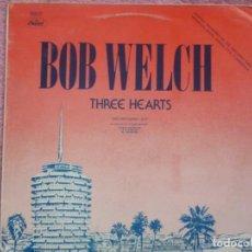 Discos de vinilo: BOB WELCH,THREE HEARTS Y DR.HOOK,SHARING THE NIGHT TOGETHER EDICION ESPAÑOLA DEL 79 PROMO. Lote 218098565