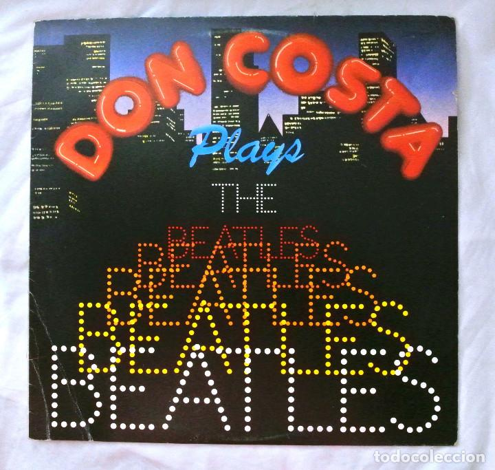 DON COSTA - PLAYS THE BEATLES, DISCO VINILO LP, ARIOLA 1982 (Música - Discos - LP Vinilo - Jazz, Jazz-Rock, Blues y R&B)