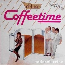 Discos de vinilo: D-TUNE- COFFEETIME - MAXI-SINGLE GERMANY 1986. Lote 218102655