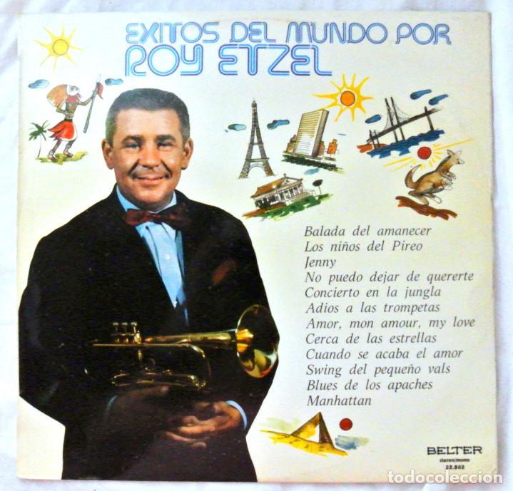 ROY ETZEL - EXITOS DEL MUNDO, DISCO VINILO LP, BELTER , 1974 (Música - Discos - LP Vinilo - Jazz, Jazz-Rock, Blues y R&B)