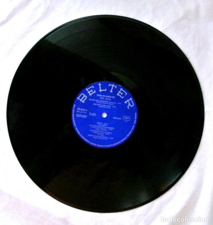 Discos de vinilo: ROY ETZEL - EXITOS DEL MUNDO, DISCO VINILO LP, BELTER , 1974 - Foto 3 - 218106347