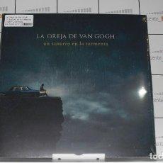 Discos de vinil: LA OREJA DE VAN GOGH UN SUSURRO EN LA TORMENTA - VINILO + 2 LÁMINAS. Lote 218106412