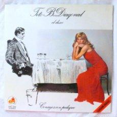 Discos de vinilo: TITO B. DIAGONAL / JORDI ESTADELLA- CONSEJOS CON PEDIGREE, DISCO VINILO LP, EM , 1979. Lote 218107017